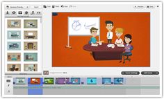 GoAnimate.  Make Professional Animated Videos.  I started using this site last semester after xtranormal.com disappeared.  This could be used for just about any class.  Have students create a video to show their knowledge of a topic in your course.