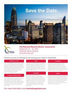 The National Resume Writersu0027 Association   Save The Date  Resume Writers Association