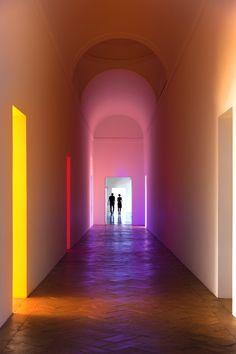 James Turrell and Robert Irwin, Aisthesis exhibition, Villa Panza
