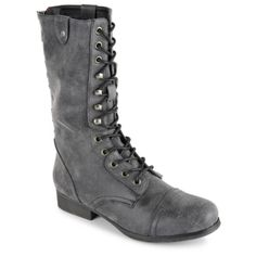 Go gritty glam in the Galeriaa women's boot from Madden Girl®