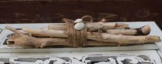 Coastal Cottage Driftwood Bundle - Nautical Home Decor, Beach Theme room Decoration / Beach Accent
