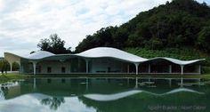 'Meiso no Mori' Municipal Funeral Hall. Toyo Ito, Gifu, How Beautiful, Art World, Pavilion, Around The Worlds, Design Inspiration, The Incredibles, Exterior