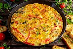 Farm fresh eggs, packed with veggies and freshly grated Parmesan cheese make this frittata a game changer. Sweet Potato Breakfast, Breakfast Recipes, Arugula Recipes, Cubed Sweet Potatoes, Baby Arugula, Sweet Potato Noodles, Frittata Recipes, Potato Pie, Sweet Potato Recipes