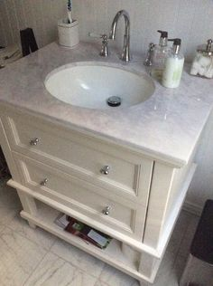 Home Decorators Collection Teasian 30 in. Vanity Cabinet Only in Cream TEWD30-CR at & Home Decorators Collection Teasian 30 in. W Bath Vanity Cabinet Only ...