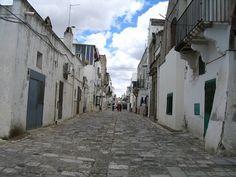 bernalda, a sleepy town in southern italy