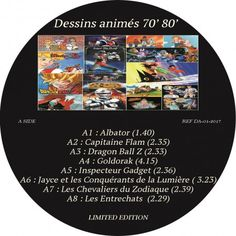 Dessins animés 70,80 - (Limited Edition LP Compilation) 2017