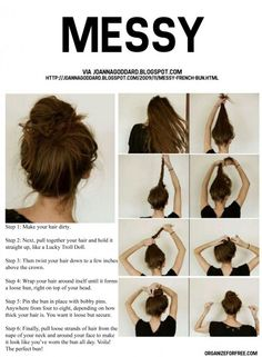 somethin to use next time i dont want to try to put my hair up