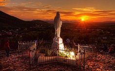 Our Lady of Medjugorje. Our Lady Of Medjugorje, Beautiful Day, Beautiful Places, Catholic Religion, Faith In Love, Tours, Blessed Virgin Mary, Blessed Mother, Mother Mary