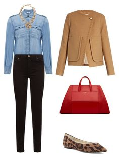 """In My Closet - Fall Diaries"" by arta13 on Polyvore featuring Frame Denim, 7 For All Mankind, Bettye Muller, Oscar de la Renta and See by Chloé"