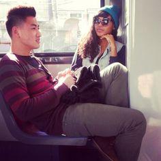 cool couple.. I tell ya asian men-black women, too cute!