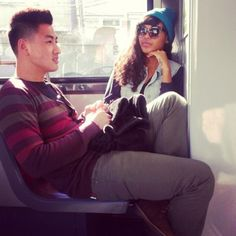 cool couple.. I tell ya asian men-black women, too cute!