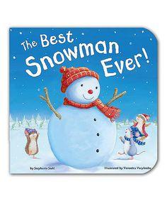 Look at this #zulilyfind! The Best Snowman Ever Board Book #zulilyfinds