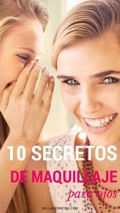Hola hermosa! Si eres adicta al maquillaje y te encanta maquillar los ojos, traemos para ti 10 secretos de maquillaje para ojos. Aprenderás los mejores secretos, trucos y tips para un maquillaje de ojos es...