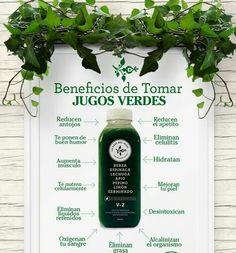 Jugos verdes /green juice