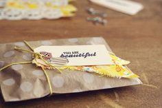 Inspiratieplaatjes deel 9: snail mail & gift wrapping. Klik op de afbeelding om het blogartikel te lezen.