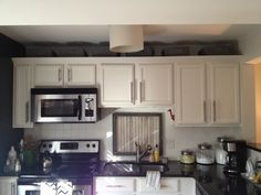 kitchen storage above cabinets - Google Search | Kitchen | Pinterest |  Cabinet decor, Storage and Base cabinets