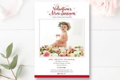 Valentine's Mini Session Template by By Stephanie Design on @creativemarket