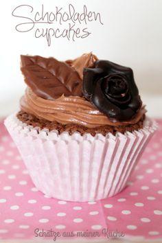 Schokoladen-Cupcakes von www.schaetzeausmeinerkueche.wordpress.com
