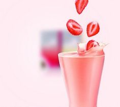 Oriflame Wellnessshake Strawberry