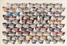 """Concentrare l'attenzione su un unico oggetto di uso comune, una semplice tazza da caffè, vista nella realtà del tempo vissuto rappresentata dalla carta dei giornali. Ecco la cifra degli ultimi lavori dell'artista francese Patrick Depin, in mostra ad Alberobello. """"Trullismo"""" è una collezione di dipinti, disegni e collage che vogliono attraverso l'utilizzo degli oggetti quotidiani manifestare l'essenza delle relazioni personali, tra genitori e figli, rappresentati dall'accostamento delle…"""