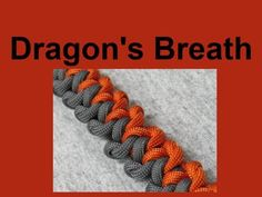 How to make a Dragons Breath Paracord Bracelet (3/8 buckle)