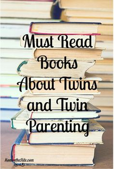 Fear, unknown, curiosity, and defeat all had (and still have) me reaching for books about twins and twin parenting tips. I'm sharing a list of the books to read with you! #twins #twinparenting #books