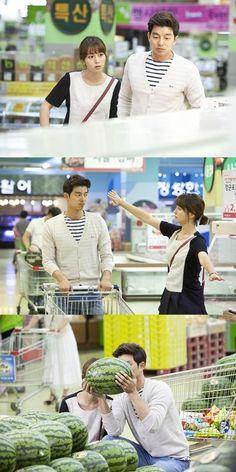 Gong Yoo - Lee Min Jung, Market Date