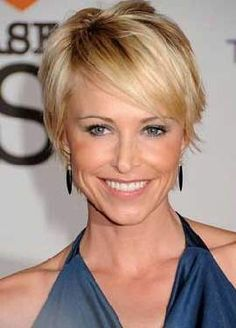 Hottest Short Hairstyles for Best Short Haircuts for how to cut short thin hair - Thin Hair Cuts Short Hairstyles Fine, Haircuts For Fine Hair, Best Short Haircuts, Pixie Haircuts, Woman Hairstyles, Easy Hairstyles, Summer Hairstyles, Pixie Hairstyles, Hairstyle Short