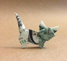 cat origami dollar bill 28 images temko origami