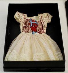 Cardiovascular System Dress by Laura Munday