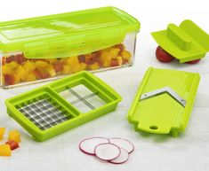 Shopping Mall – Nicer Dicer Magic Cube Vegetable Cutter and Fruit Cutter Set