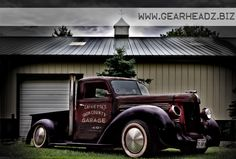 "Rat Truck, done exactly right Get the print over at www.gearheadz.biz. $45.00 and FREE priority shipping in the US! (24""x36"")  #americanmuscle"
