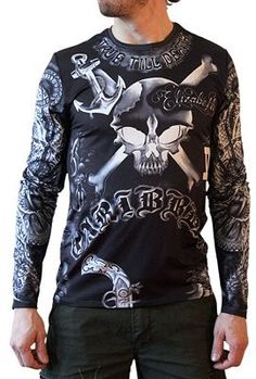 Tattoo Shirts by Master Tattoo Artists in Every Style: Men's Clothing