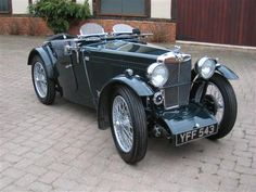1933 MG J-Type Midget (J3XXX) : Registry : The AutoShrine Network