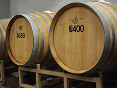 In the wine cellar of the Izutsu Wine.