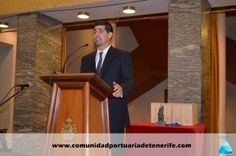 Don Diego A. González Reinfeld, Director de Comunicación de FUNCEPT, haciendo de maestro de ceremonias.