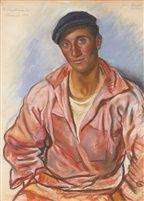 """""""Breton fisherman"""" by Zinaida Serebryakova"""
