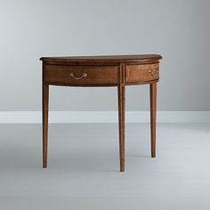 Buy John Lewis Cameo Demi Lune Console Table Online at johnlewis.com