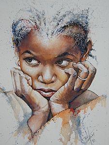 Little Girl with Braids, Bob Graham . Latest news from Studio 151 Fine Arts Gallery