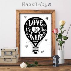 A lovely black and white print/download available at www.hacklebys.co.nz  #prints #blackandwhiteprints #loveprints #printables