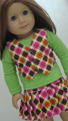 american girl doll outfit idea .... I LOVE this outfit