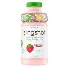 Granola-Infused Yogurt Drinks : Drinkable Yogurt
