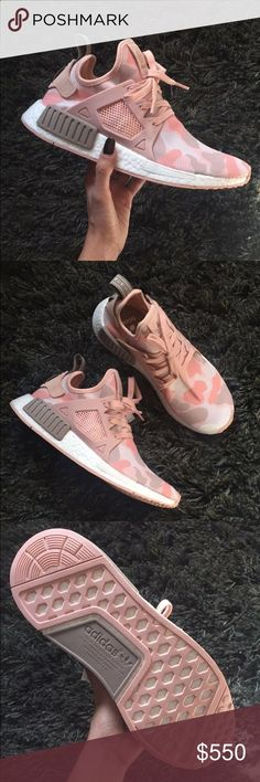 Pink Duck Camo Adidas NMD XR1 RARE and beautiful brand new pink duck camo Adidas NMDs. Super cute and comfy ✨ Adidas Shoes Athletic Shoes