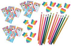 36 Piece Unicorn Theme Birthday Party Favor Bundle and Activity Kit for Kids Parties or Classroom - http://partysuppliesanddecorations.com/36-piece-unicorn-theme-birthday-party-favor-bundle-and-activity-kit-for-kids-parties-or-classroom.html