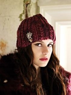 Nova - Knit this ribbed hat accessory from the Thick 'n' Thin Collection, a design by Sarah Hatton using the stunning yarn Thick 'n' Thin (100% wool). This knitting pattern is for the beginner knitter.