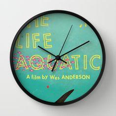 The Life Aquatic Wall Clock by Wharton - $30.00