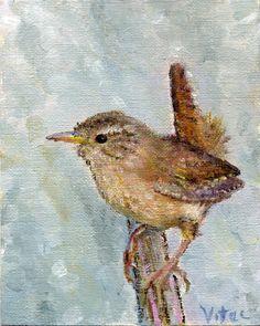 wren painting