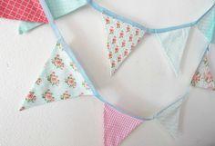 Aprenda a fazer bandeirola de tecido