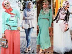 candy colors hijab fashion