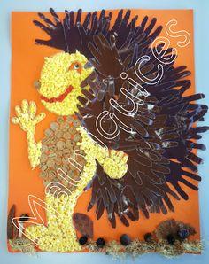 Mauriquices: O Ouriço Carrapiço